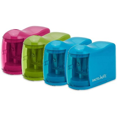X-ACTO Buzz Battery Powered Pencil Sharpener (Color May Vary)