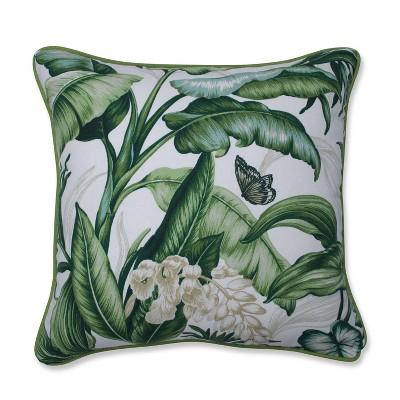 Wailea Coast Vert Throw Pillow - Pillow Perfect