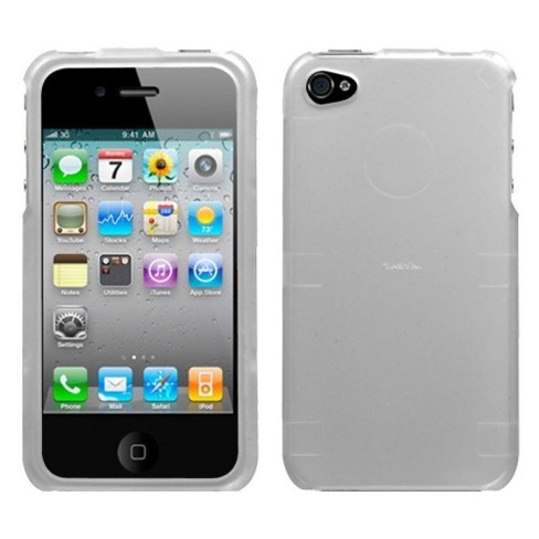 MyBat Hard Snap-in Case Cover Compatible With Apple iPhone 4/4S, Silver - image 1 of 1