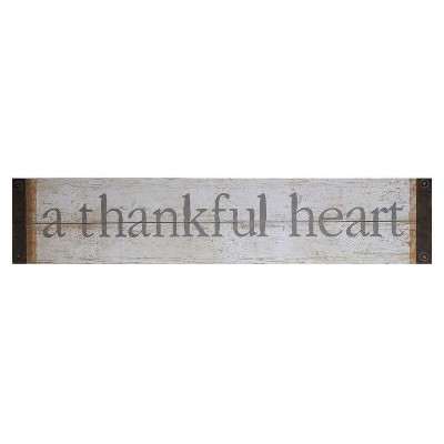 A Thankful Heart Wall Décor - 3R Studios