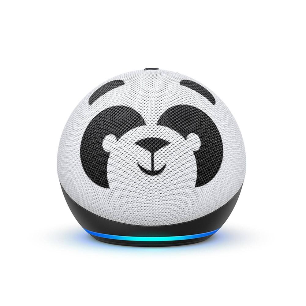 Amazon Echo Dot (4th Gen) Kids Edition with Parental Controls - Panda on sale
