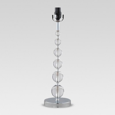 Arcylic Stacked Ball Large Lamp Base Clear Lamp Only - Threshold™