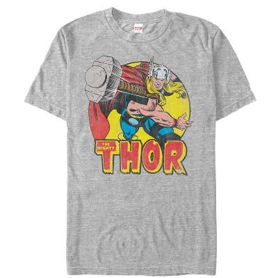 Men's Marvel Mighty Thor Hammer Throw T-Shirt
