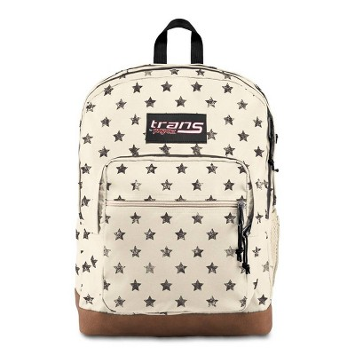 "Trans by JanSport 17"" Super Cool Backpack - Distressed Stars"