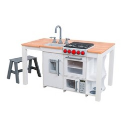 KidKraft Chefs Create N Play Island Kitchen - White