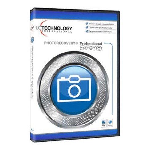 LC Technology PhotoRecovery Professional 2009 for MAC - image 1 of 1