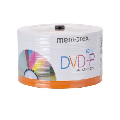 Memorex DVD-R Eco Spindle Disc Pack - 50 PK