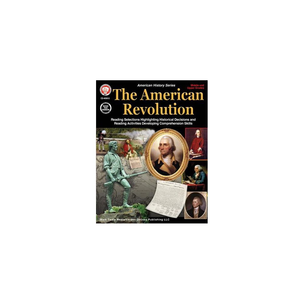American Revolution Middle and Upper Grades - (American Histroy) by George Lee (Paperback)