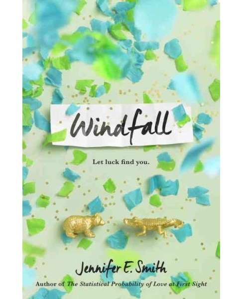Windfall -  by Jennifer E. Smith (Hardcover) - image 1 of 1
