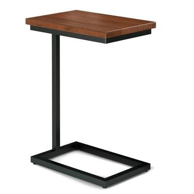Sewlyn C Side Table Cognac Brown - WyndenHall