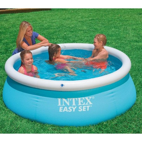Intex 6Ft X 20In Easy Set Inflatable Swimming Pool And Filter Pump (2 Pack)