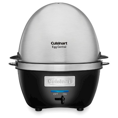 Cuisinart Egg Central - Black w/ Brushed Stainless Steel Lid - CEC-10