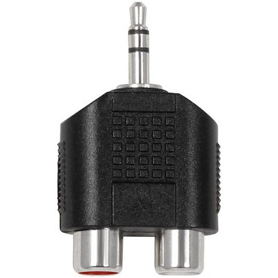 Livewire Essential Y-Adapter 3.5 mm TRS to RCA Female