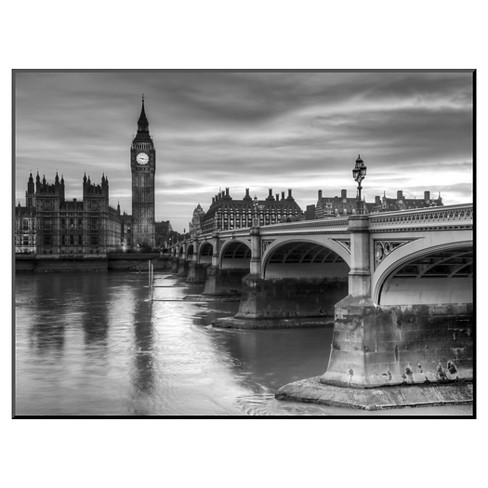 Art.com The House of Parliament and Westminster Bridge by Grant Rooney - Mounted Print - image 1 of 2