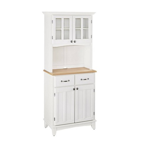 Sideboard buffet Servers Wood Top and Hutch - Home Styles - image 1 of 1