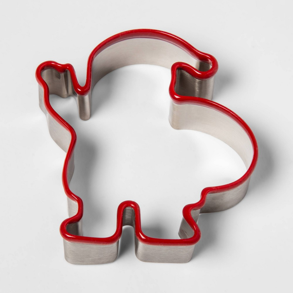 Image of Stainless Steel Holiday Santa Cookie Cutter - Threshold