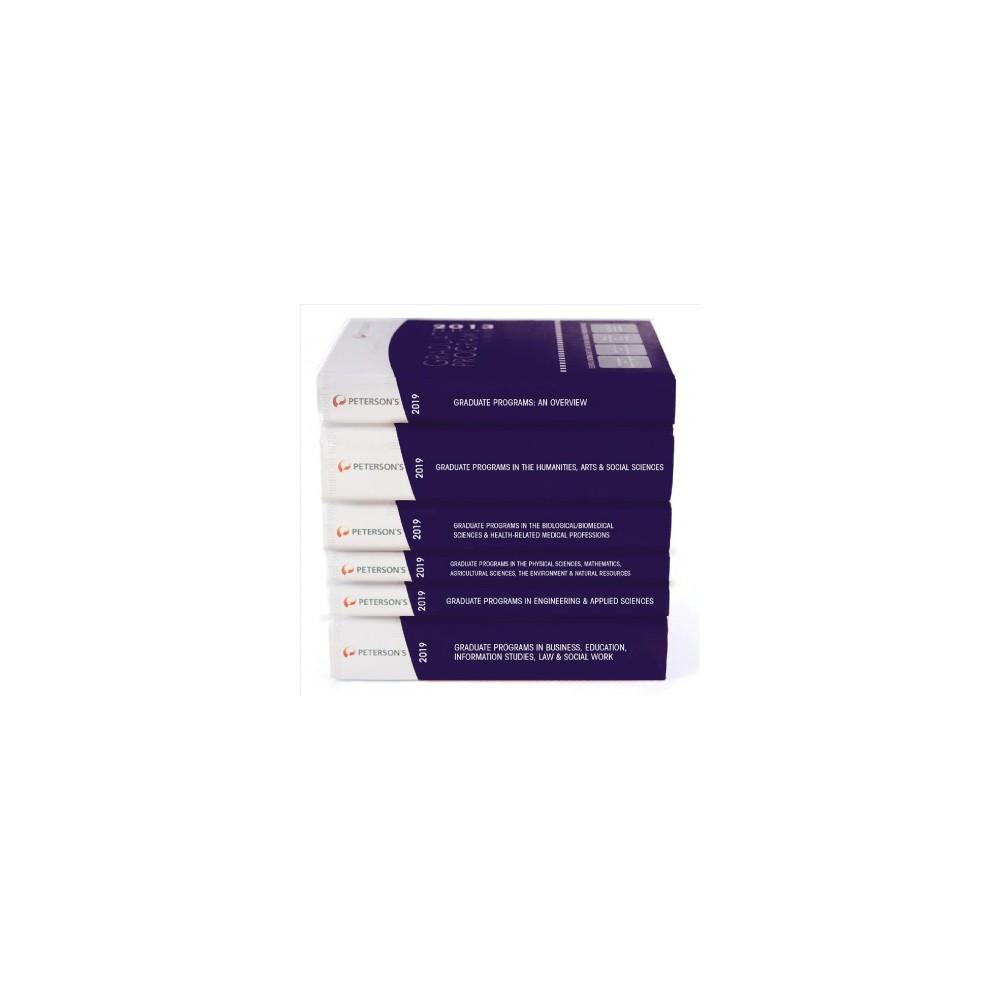 Peterson's Graduate & Professional Programs 2019 - 53 (Hardcover)