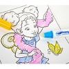 Crayola Disney Fancy Nancy 16pg Color Wonder Travel Activity Pad (with 3 Color Wonder Markers) - image 3 of 4