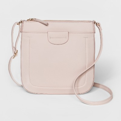 d60faa8cb14fab Swing Pack Crossbody Bag – A New Day™ Blush Pink – Target Inventory ...