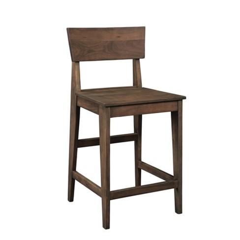 Tremendous Set Of 2 Denali Counter Height Bar Stools Brown Treasure Trove Machost Co Dining Chair Design Ideas Machostcouk