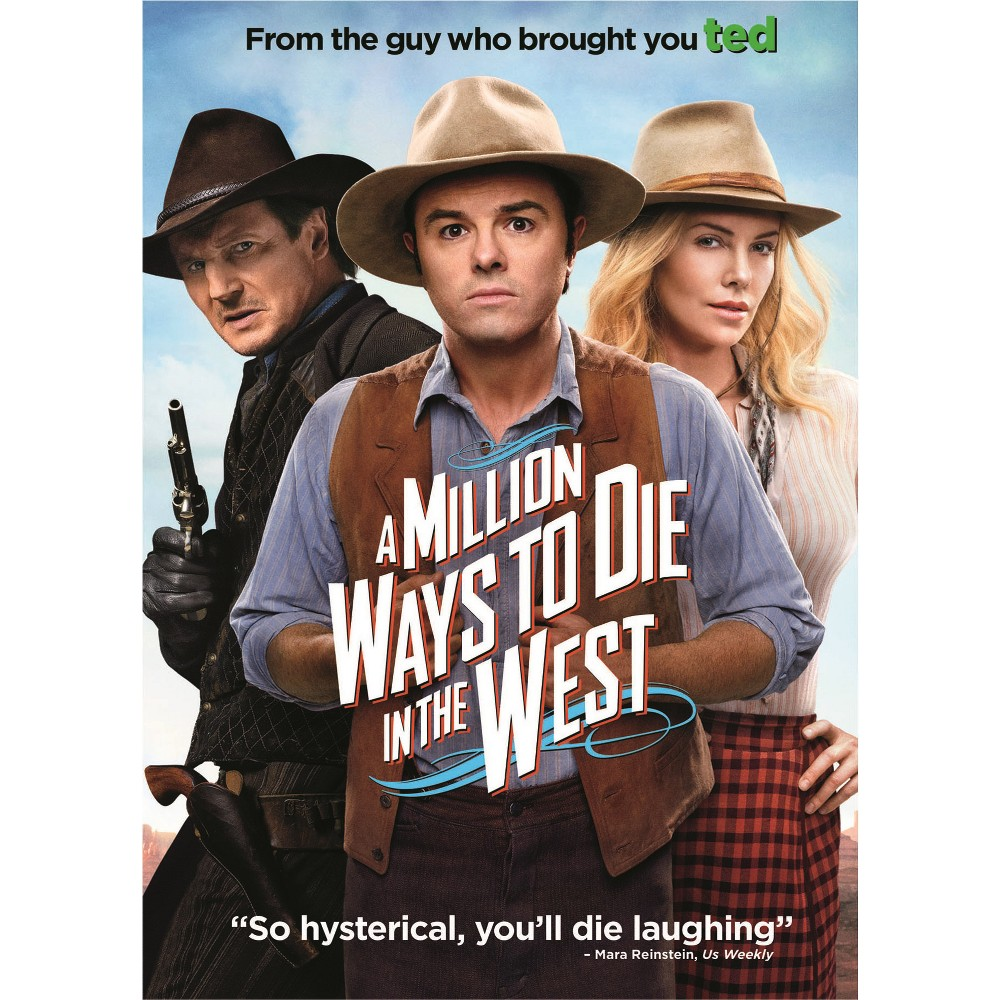 Million ways to die in the west (Dvd)