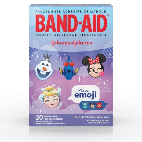 Band-Aid Disney Emoji Assorted - 20ct - image 1 of 8