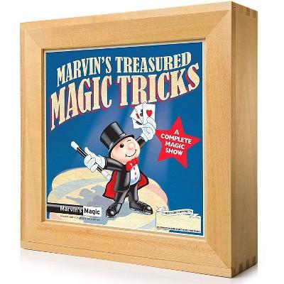 Marvin's Magic Treasured Magic Tricks Wooden Set