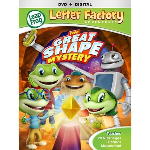 Leapfrog Letter Factory Adventures Gr Dvd Target