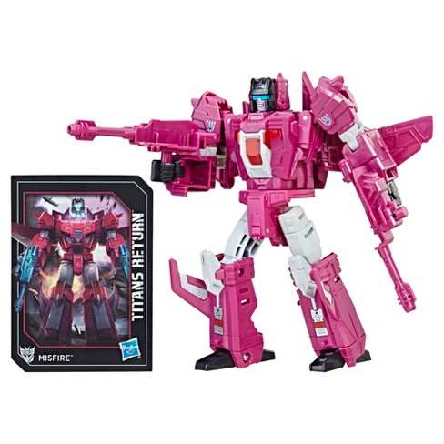 Transformers Generations Titans Return Deluxe Misfire and Aimless Action Figure - image 1 of 3