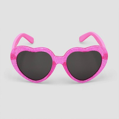 Toddler Girls' Novelty Hearts Sunglasses - Just One You® made by carter's Pink