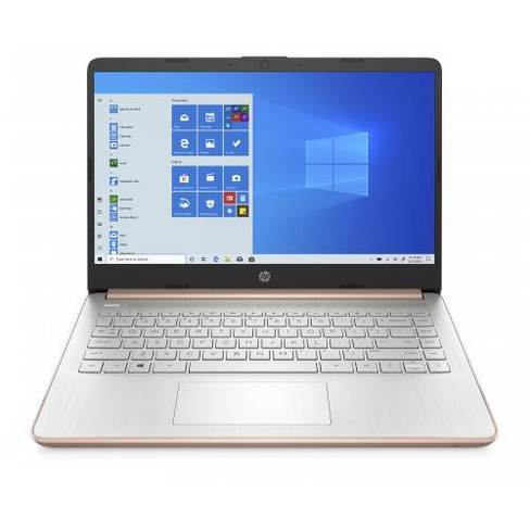 "HP Stream 14 Series 14"" Laptop AMD 3020e 4GB RAM 64GB eMMC Pale Rose Gold - AMD Athlon 3020e Dual-core - AMD Radeon Graphics - image 1 of 4"