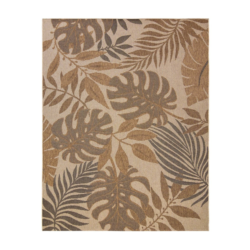 Image of 5'x7' Anaco Outdoor Rug Black - Studio by Brown Jordan