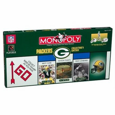 Monopoly - Green Bay Packers Collector's Edition (2003 Edition) Board Game