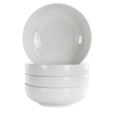 28oz 4pk Porcelain Daily Deluxe Dining Bowl - Elama