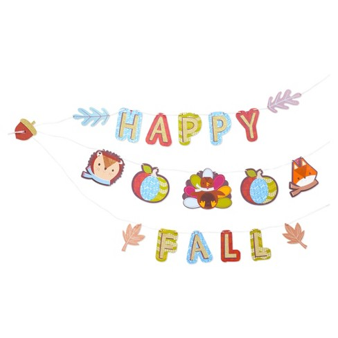 Harvest Happy Fall Banner Kit - Spritz™ - image 1 of 2