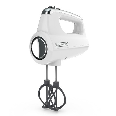 BLACK+DECKER Hand Mixer - White MX600W