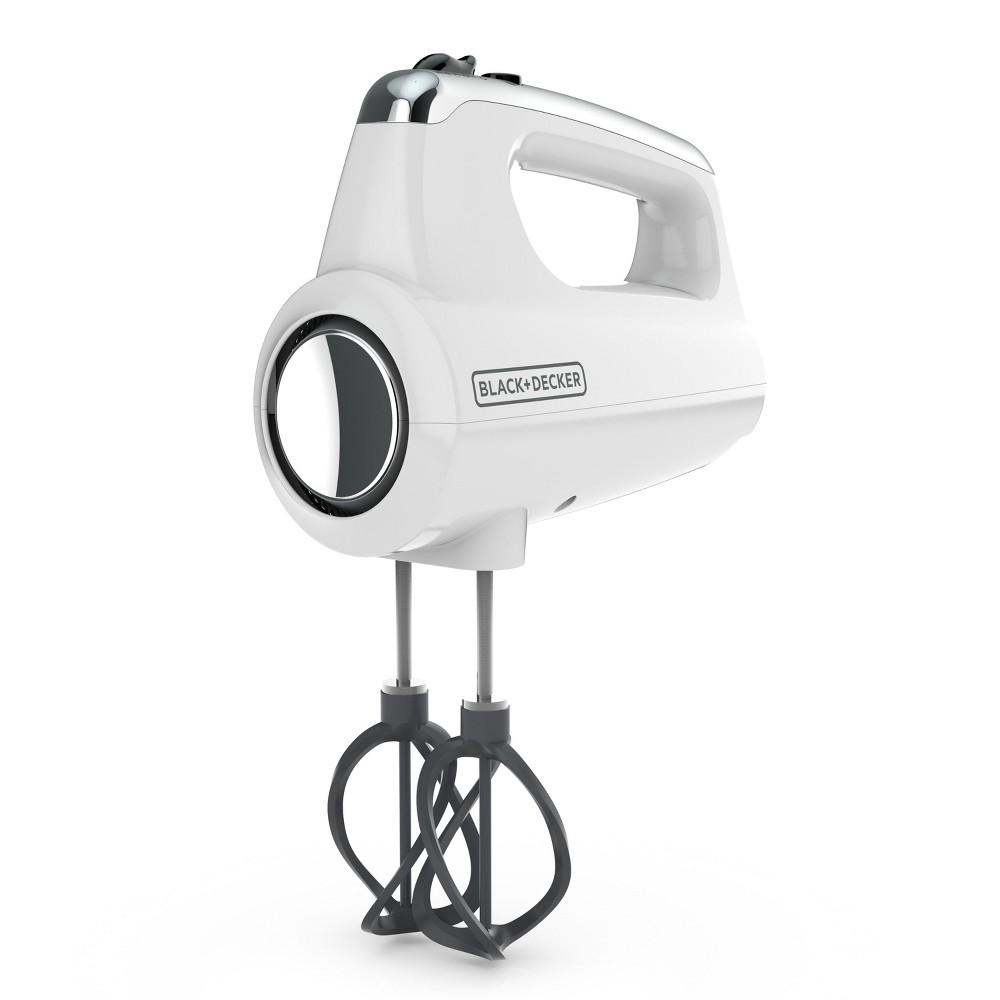 Image of Black+decker Hand Mixer - White MX600W