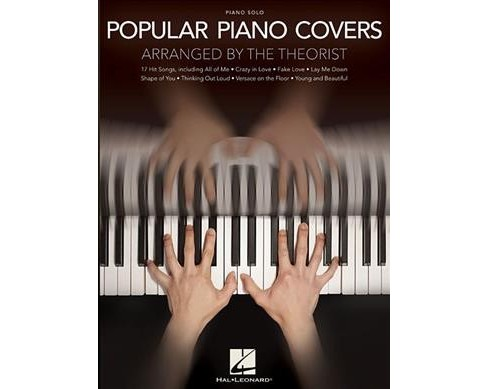 Popular Piano Covers : Piano Solo -  (Paperback) - image 1 of 1