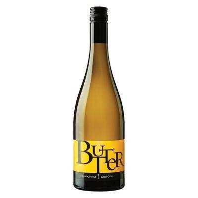 Butter Chardonnay White Wine - 750ml Bottle