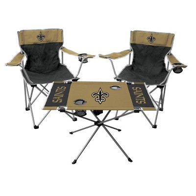 Bon NFL Rawlings Tailgate Kit   2 Chairs And Endzone Table