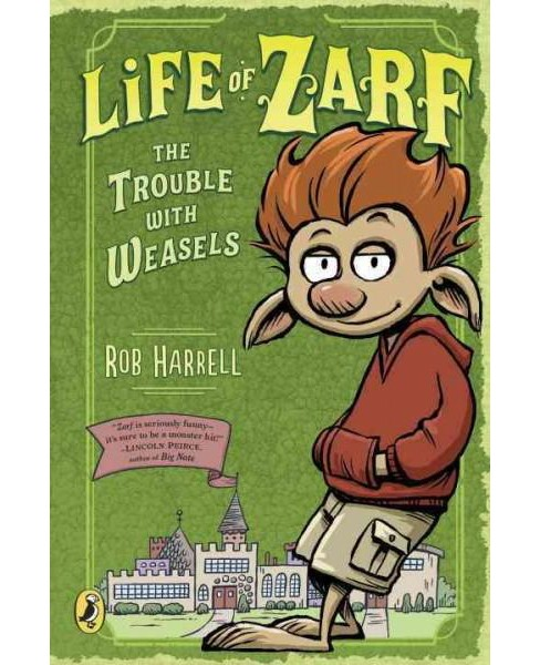 Trouble With Weasels (Paperback) (Rob Harrell) - image 1 of 1