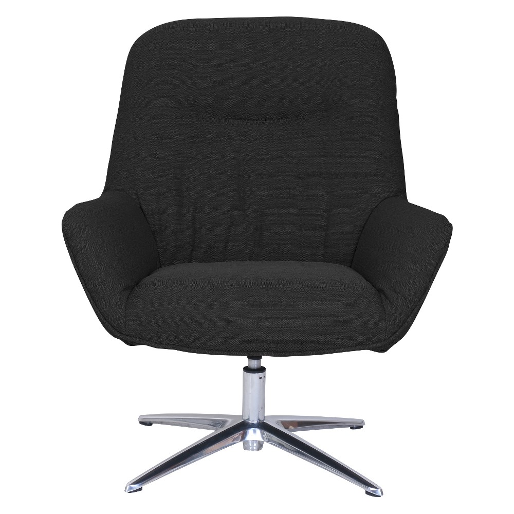 Image of Style Reagan Collaboration Lounge Chair Charcoal - Serta, Grey
