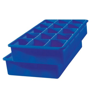 Tovolo Perfect Cube Tray - 2pc - Blue