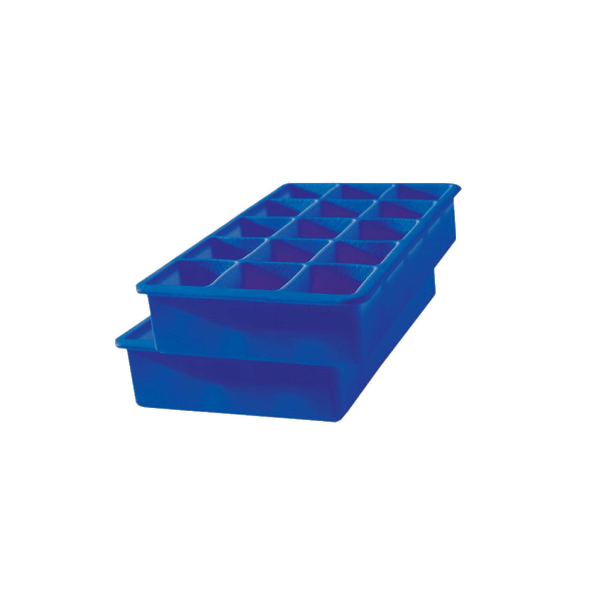 Tovolo Perfect Cube Tray - 2pc - Blue