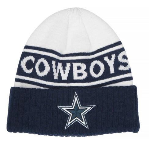 9fadbf9037308 NFL Dallas Cowboys Beanie - Navy   Target