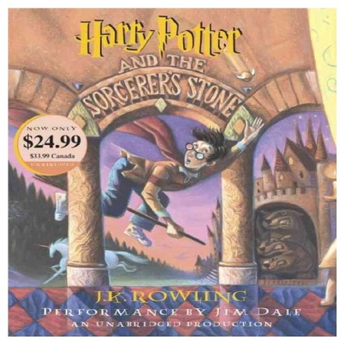 Harry Potter and the Sorcerer's Stone ( Harry Potter) (Unabridged) (Compact Disc) - image 1 of 1