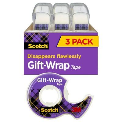 "Scotch 3ct .75""x350"" Gift Wrap Tape"