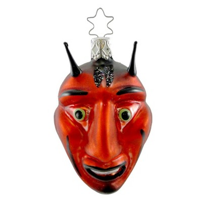 Inge Glas Lucky Devil Ornament Halloween Satan  -  Tree Ornaments
