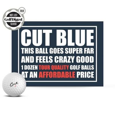 Cut Golf Blue Golf Balls - 12pk