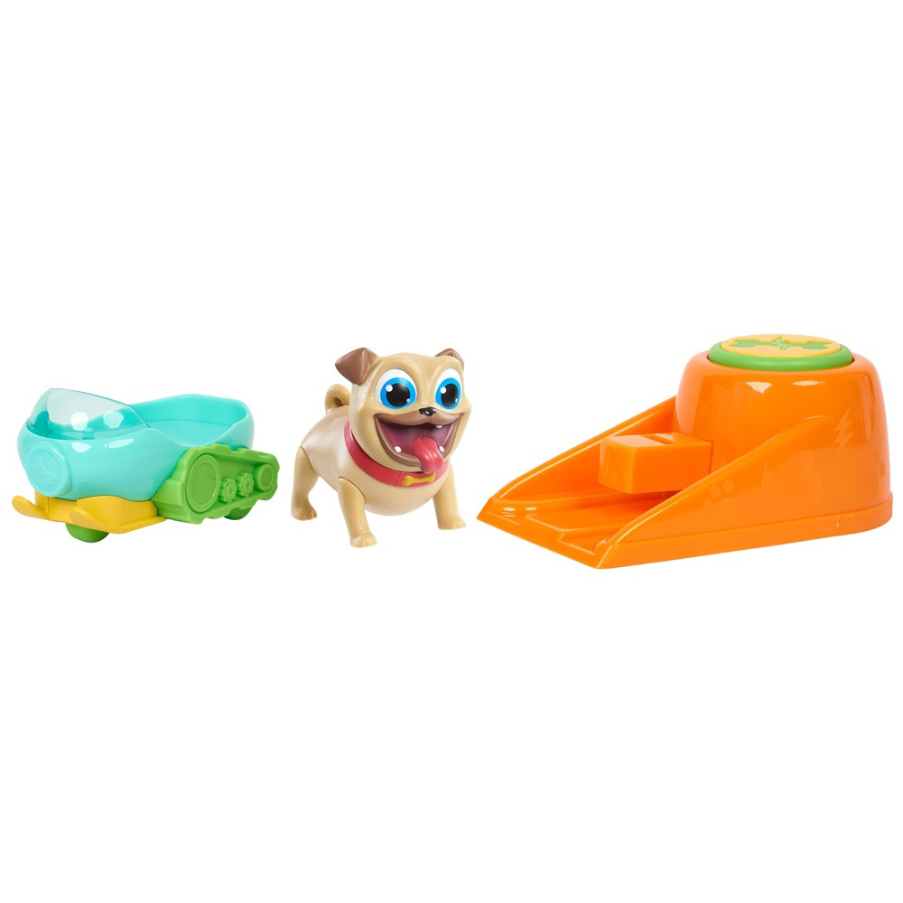 Puppy Dog Pals Rolly's Snow Bike Launcher
